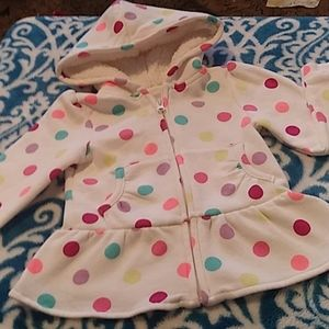 Childrens place size 4t. Zip up hoodie